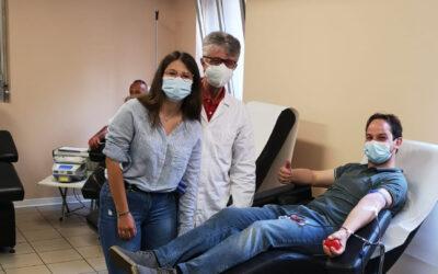 Francesca e Marco Paris, avisini doc come papà- 1a donazione